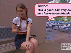 Schoolgirl Meets Up With A Guy Onlline