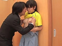 Japanese Babe Gets Her Hairy Cunt Pounded Hardcore Porn 38