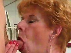 Classic Granny Diane Richards Banged In Kitchen Porn Ff