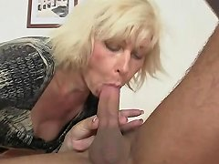 Blond Mother In Law Seduces Me But Wife Finds Out