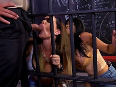 Hot Prison Threesome With Gabby Quinteros And Jessica Jaymes
