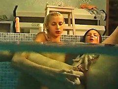 Underwater Lesbian Fun