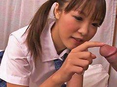 A Blowjob From Asian College Girl Momoka Rin