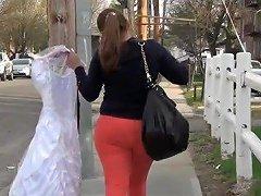 Mom In Orange Spandex Omg Hd