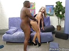 Young Nympho Chastity Lynn Butt Fucked By Fat Black Cock