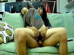 Korean Friends Couple Having Sex On The Sofa 2 Porn F6