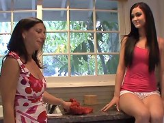 Lesbian Milf Stepdaughter Pleasure One Another Total Lesbian
