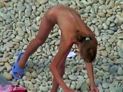Sexy Naked Girls Got Caught By Voyeur Camera