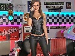 Stunning Girl In Black Wetlook Leggings Porn 3a Xhamster