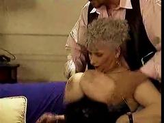 Retro Granny With Big Floppy Tits