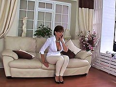 Married Lady Stretched By Her Stud