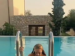 Summer Holiday In The Pool Free In The Pool Porn Video 4c