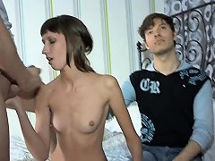 Naughty Teen Babe Is Performing Unfathomable Throat Blow