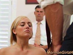 Masturbating Mormon Teen