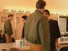 Vintage Gay Porn With A Barber Getting A Handjob
