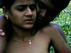 Kinky Amateur Slender Girlie Flashes Her Natural Titties In The Park