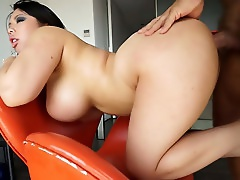 Booty Asian Hoe Wit Big Fake Boobs Got Fucked From Behind Hard