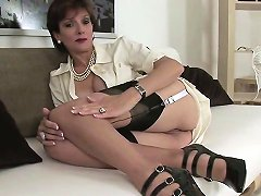 Cheating British Milf Lady Sonia Displays Her Enormous Breas