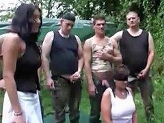 German Hausfrau Orgy