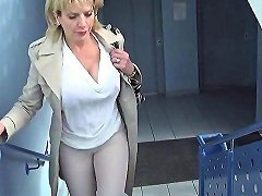 Unfaithful British MILF Lady Sonia Pops Out Her Giant Melons