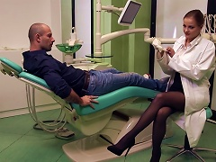 Anal For Sleazy Doc In Heats