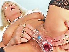 Old Nurse Close Up Cunt Video