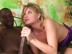 Two Salacious Blondes Gret Their Cunts Smashed By A Black Stud