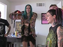 Behind The Scenes Of Punk Porn Shoots With Sexy Tattooed Girls