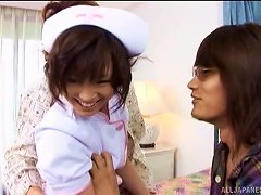Lucky Patient Gets To Lay The Pipe To His Hot Asian Nurse