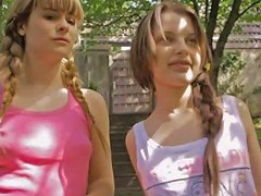 Sweet Girls Liona And Charlize Bella Lesbian Session