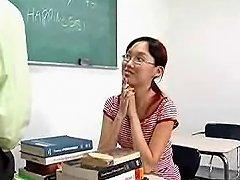 Nerdy Asian Lystra Is Fucked By Teacher Porn 9b Xhamster
