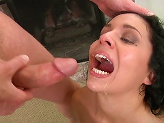 Ladies Swallows Cum In Different Shoot Compilation