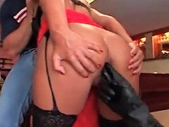 My Milf Exposed Rough Anal For Sexy Milf In Stockings