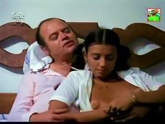 Perfect Latina Teen Teases Old Man In A Retro  Porn Movie