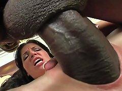 Rebeca Linares Screams On Monster Cock