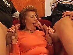 Moms First Anal Gangbang Orgy