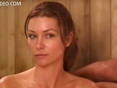 Heather Vandeven And S Naked In A Sauna - Life  Hot Scene