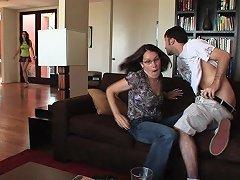 Jessie Alba Rides And Sucks Cock After Catching Boyfriend Cheating