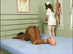 Gets Tied Up, Facesitted And Tortured By Her Nurse