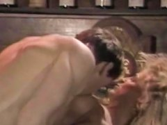Charming MILF With Blonde Curly Hair Makes A Deep Blowjob