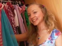 Dildoing In Dressing Room
