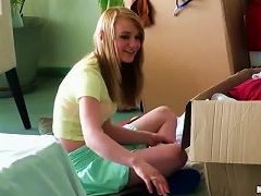Nasty Blonde Maci Moore Gets All Her Holes Pounded Hard