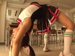 Hot Asian Teen Is A Great Sexy Cheerleader