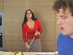Mature Hottie Jaclyn Taylor Bends Over For Stud