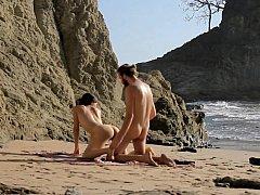 Push It Harder I Love Beach Sand