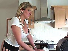 Adulterous English MILF Lady Sonia Showcases Her Massive Tits