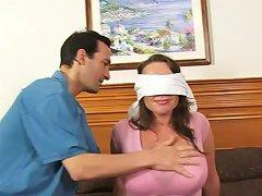 Busty Amateur Girlfriend Enjoys 4 Dicks With Huge Cum Loads