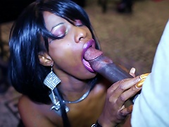 Moe Johnson And Saxxx In A Hot Oral Scene